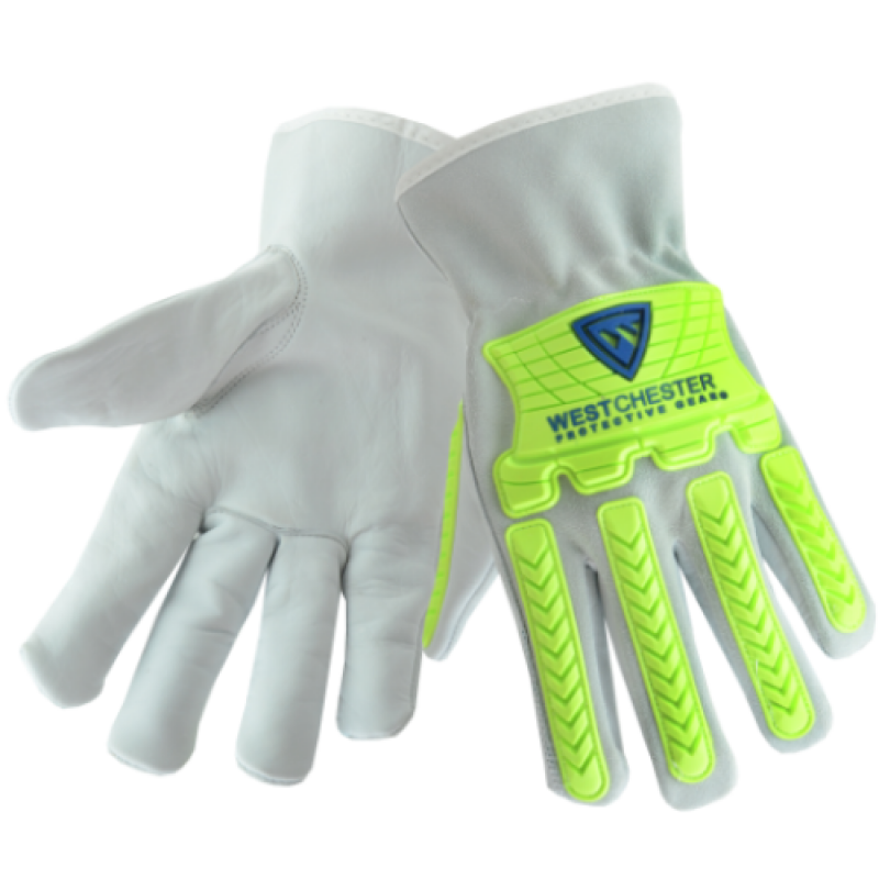 West Chester 997KB Cow Driver with TPR Work Gloves 1 PR