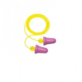 3M™ No-Touch™ Foam Corded Earplugs P2001 (Box of 100)