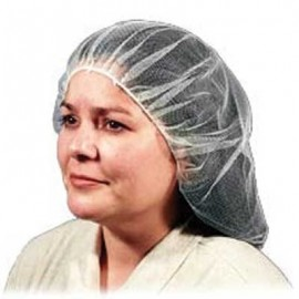 "Malt Industries 21"" Hairnet, White Color (10 Bags Per Case)"