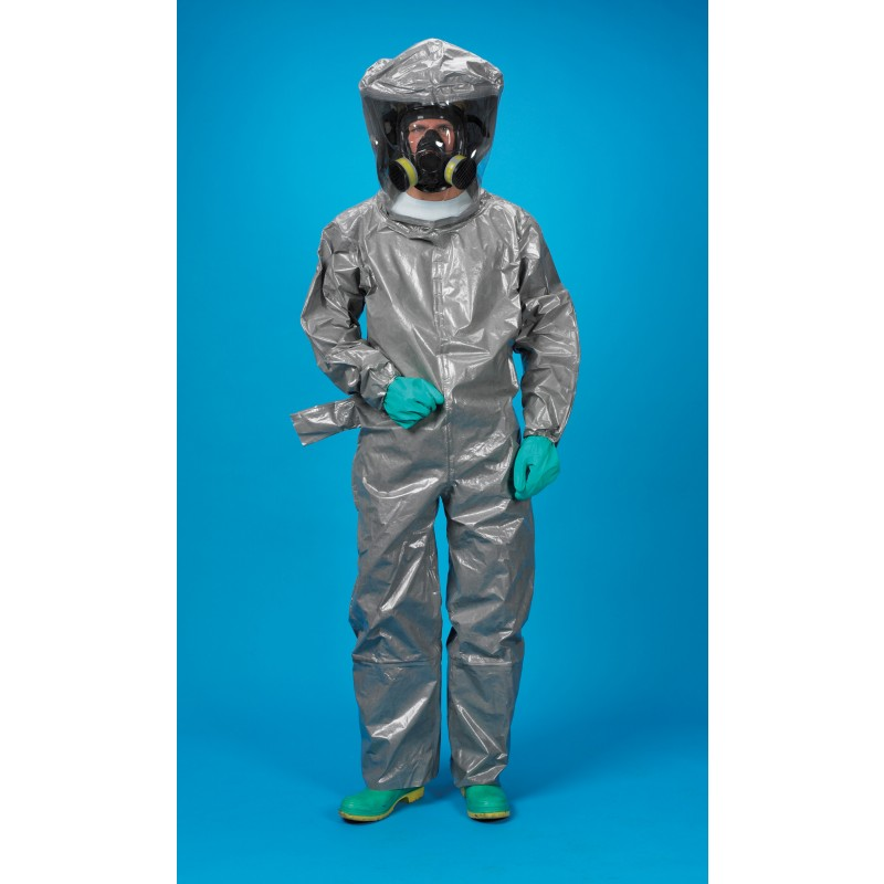 Lakeland ChemMax 3 Encapsulated Suit - Respirator Fit Hood - 1 Exhaust Port