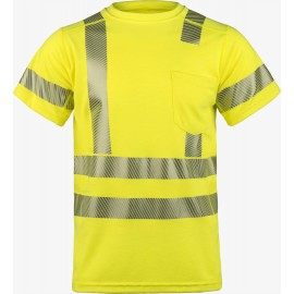 Lakeland SSCAT High Performance FR Short Sleeve Crew Hi-Vis