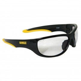 DEWALT Dominator - Clear Lens Safety Glasses Full Frame Style Black Color - 12 Pairs / Box