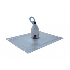 3M™ DBI-SALA® Roof Top Anchor - For Metal, Concrete, Wood Roofs 2100133, Silver