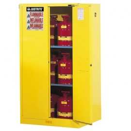 Justrite Sure-Grip EX Safety Cabinet - 60 Gallon