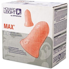 Howard Leight MAX-1 Foam Ear Plugs Uncorded NRR33