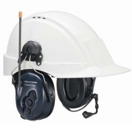 3M™ PELTOR™ Peltor PowerCom BRS Series 2-Way Headset - Hard Hat Mount Model