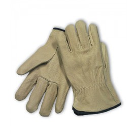 PIP 70-318 Premium Grade Top Grain Leather Driver's Glove - Straight Thumb 6/Dozen