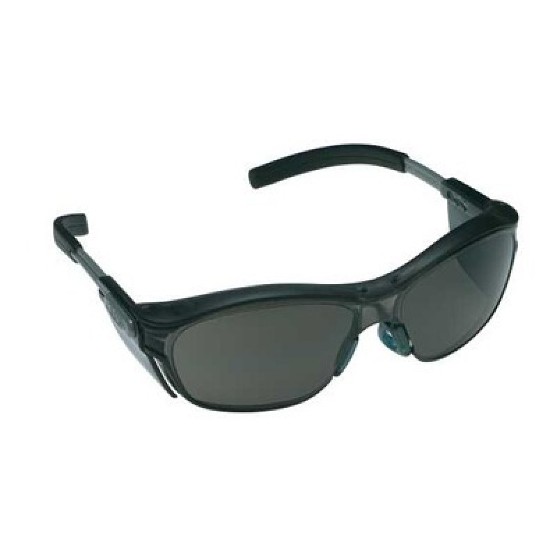 nuvo safety glasses with gray anti fog lens ao safety