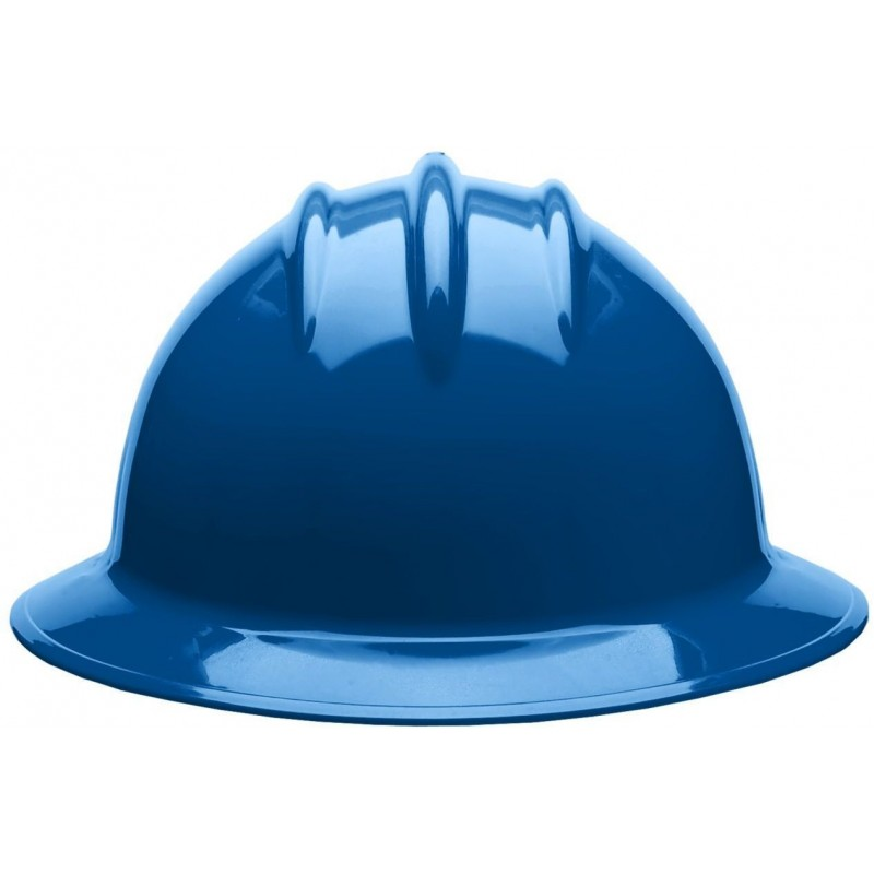 Bullard C35 35KBR 6pt. Ratchet Classic Extra Large Full Brim w/Accessory Slots Kentucky Blue Hard Hat 20/Case