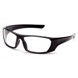 Pyramex  Outlander  Black Frame/Clear Lens  Safety Glasses  12/BX