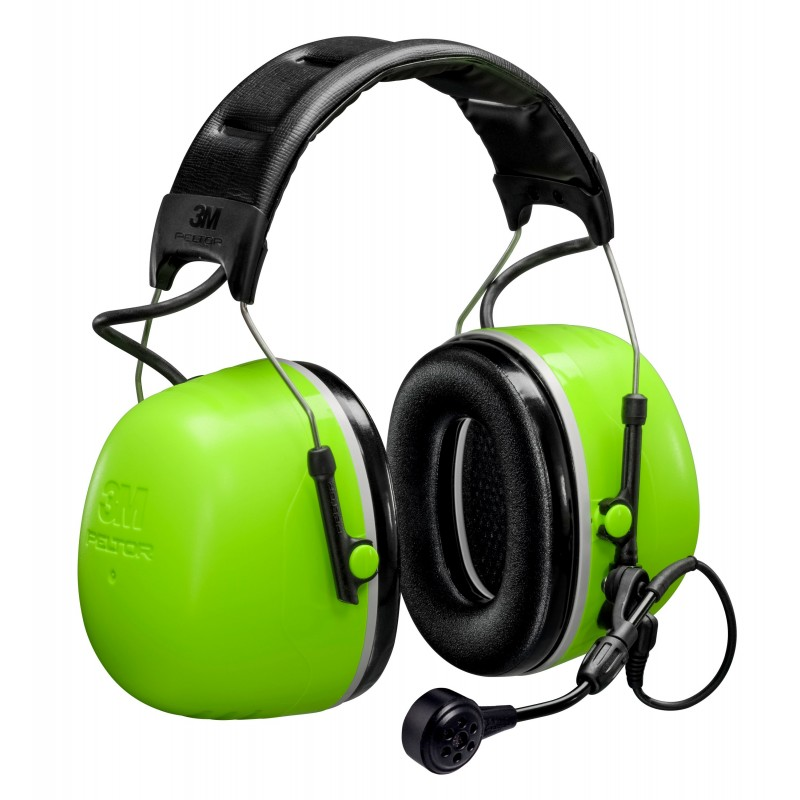 3M™ PELTOR™ MT73H450A-77 GB - CH-5 High Attenuation Headset - Flex Connector - Headband - 31dB NRR