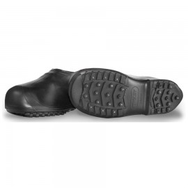 Tingley 1350.3X Winter-Tuff Ice Traction Overshoe Covers Work Shoe Up To Ankle Black Cleated/Studded Outsole
