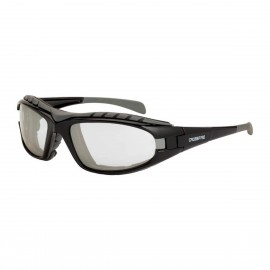 Radians Diamondback Indoor/Outdoor AntiFog Black Safety Glasses 12 PR/Box