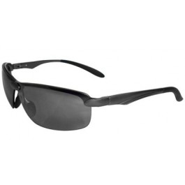 LE100 Patrol Series Safety Glasses with Gray Anti-Fog Lens