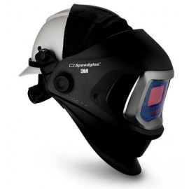 3M™ Speedglas™ Welding Helmet 9100 FX 06-0600-10HHSW, with Hard Hat, SideWindows and 3M™ Speedglas™ Auto-Darkening Filter 9100V, Shades 5, 8-13