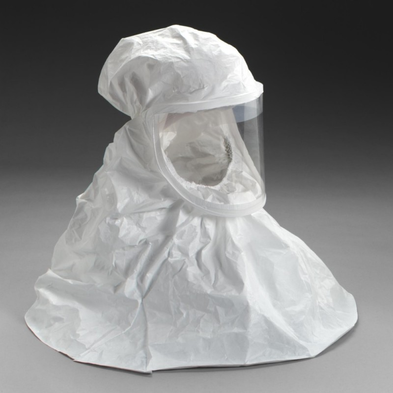 3M™ BE-10-20 White Respirator Hood - Regular (Formerly 522-01-11R20)