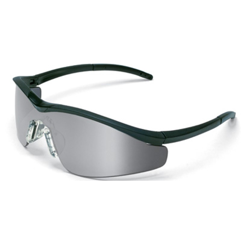 MCR Triwear Safety Glasses with Onyx Frame and 1236 Mirror Lens