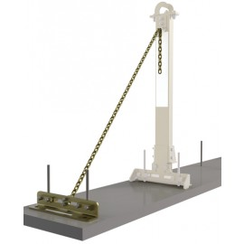 3M™ DBI-SALA® SecuraSpan™ Rebar/Shear Stud HLL Tie-Back Base with Chain 7400214