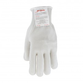 PIP 22-601RHM Kut Gard Seamless Knit PolyKor Blended Glove with Silagrip Coating on Palm Heavy Weight Medium 24 EA