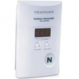 Brooks Nighthawk Deluxe Carbon Monoxide Alarm