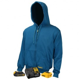 Dewalt 20V/12V MAX Heated Blue Fleece Kit  Blue Color - 1 / Box