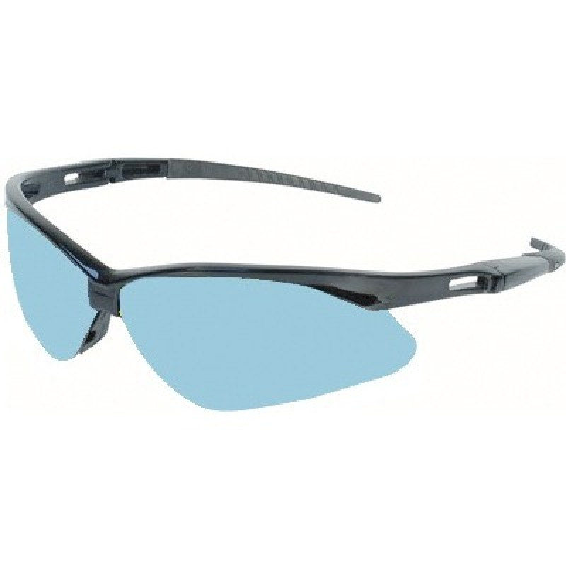 4c331ede0f1f More Views. Jackson Safety Nemesis Safety Glasses with Blue Frame and Light  Blue Lens ...