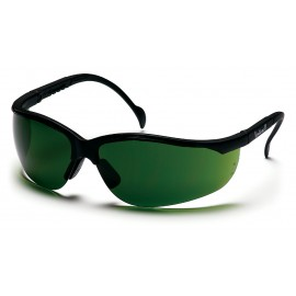 Pyramex Safety - Venture II - Black Frame/3.0 IR Filter Lens Polycarbonate Safety Glasses - 12 / BX