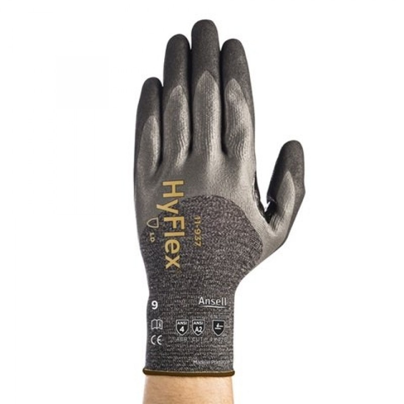 Ansell 11-937 Hyflex  3/4 Coated Work Glove (1 PR)