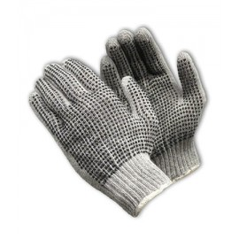 Seamless Knit double-Sided PVC Dot Grip Glove - 7 Gauge