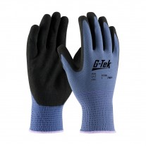 PIP G-Tek 34-500 AG Seamless Knit Gloves with Nitrile Coated MicroSurface Grip (1 Dozen)