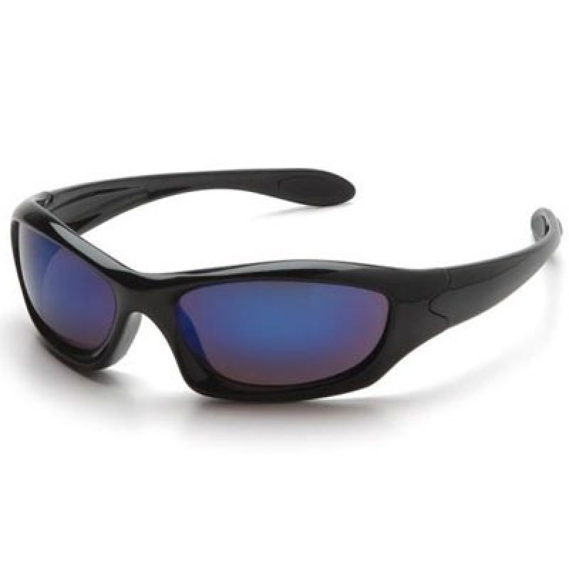 Pyramex Safety Zone III Safety Glasses - Ice Blue Mirror Lens 12/Box