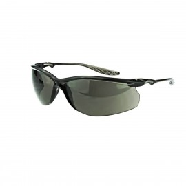 Radians 24Seven Smoke Black Safety Glasses Frameless Black 12 PR/Box
