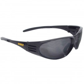 DEWALT Ventilator- Smoke Lens - Black Frame Safety Glasses Full Frame Style Black Color - 12 Pairs / Box