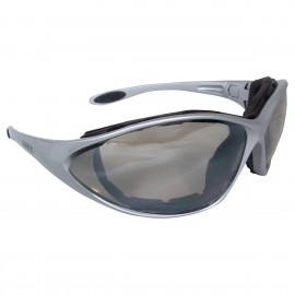 DEWALT Framework- Indoor/Outdoor Lens Safety Glasses Full Frame Style Silver Color - 12 Pairs / Box
