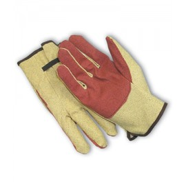 PIP 61-214 Vinyl Impregnated Cotton Gloves, Double Palm (1 DZ)
