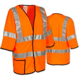 OccuLux Class 3 Mesh Vest with Velcro Front