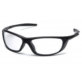 Pyramex  Azera  Black Frame/Clear Lens  Safety Glasses  12/BX