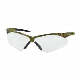 PIP Anser Semi-Rimless Safety Glasses Camouflage Frame, Clear Lens Anti-Scratch Coating (144 Pairs)
