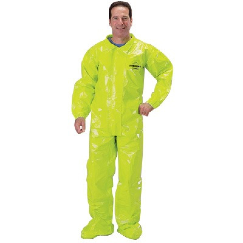 Tychem TK Coveralls with Elastic Wrists and Over Boots