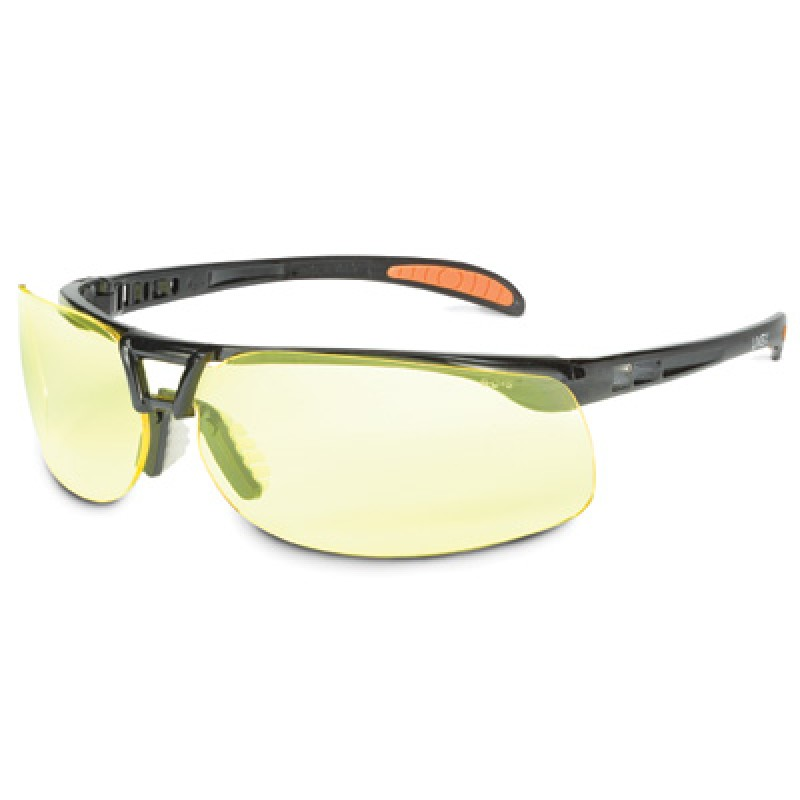 Uvex Protege Safety Glasses with Amber Lens 10 Pairs