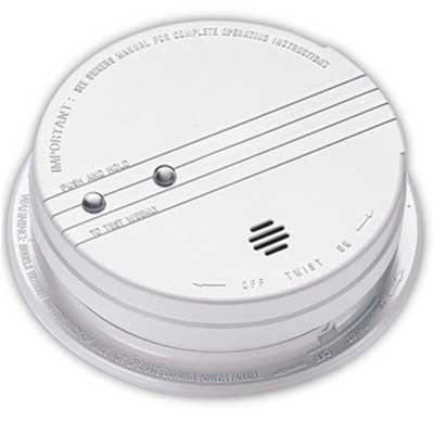 120v Ac Photoelectric Smoke Alarm