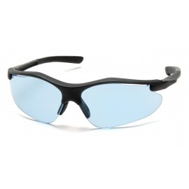 Pyramex  Fortress  Black Frame/Infinity Blue Lens  Safety Glasses  12/BX