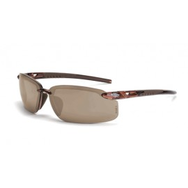 Radians Crossfire ES5 Polycarbonate Safety Glasses Brown  Brown Flash Mirror Color - 1 Pair