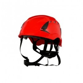 3M™ SecureFit™ Safety Helmet, X5005V-ANSI,  Red, vented (Case of 10)