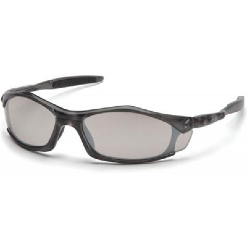 40a0f687015 More Views. Pyramex Solara Safety Glass - Indoor Outdoor Lens with Gray  Frame