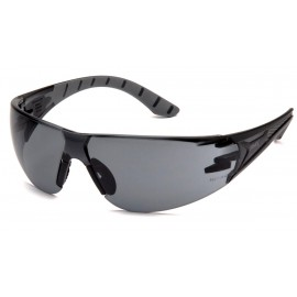 Pyramex  Endeavor Plus  BlackGray Frame/Gray Lens  Safety Glasses  12/BX