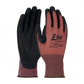 PIP 16-368/M G-Tek Seamless Knit PolyKor X7 Blended Glove with NeoFoam Coated Palm & Fingers Touchscreen Compatible Medium 6 DZ