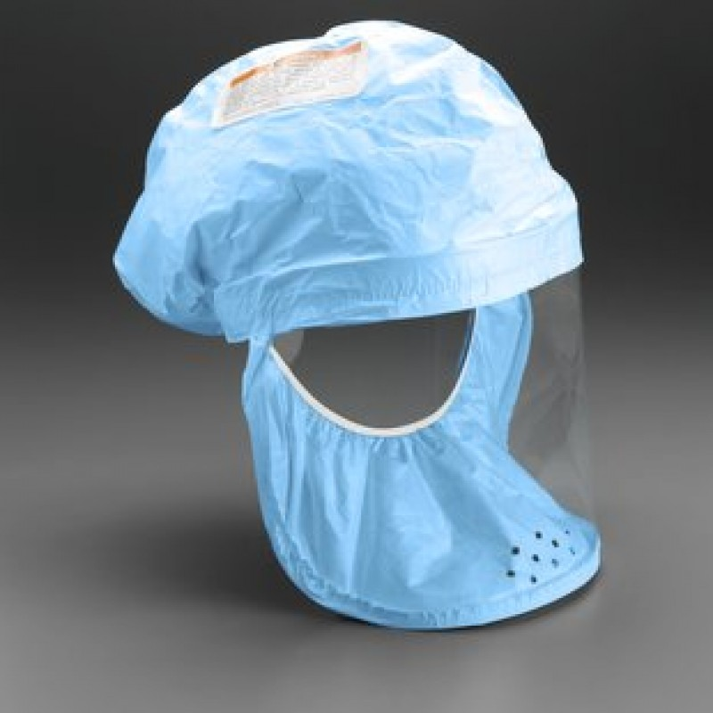 3M™ Head Cover BE-12B-50 (Formerly 522-02-02R50) Blue, Regular, fabric with polyethylene coating 50 EA/Case -- OBSOLETE