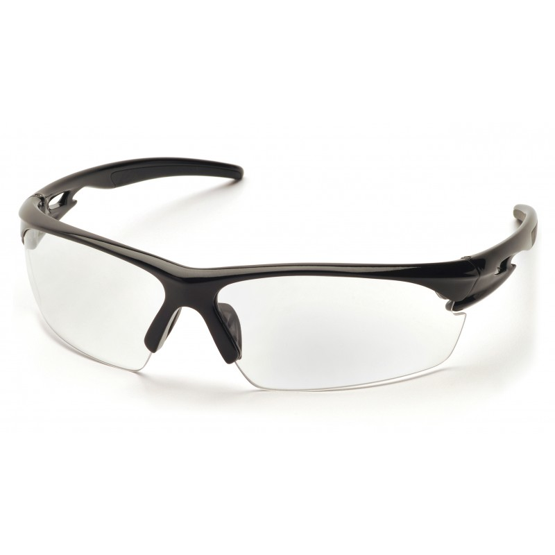Pyramex Safety - Ionix - Black Frame/Clear Anti-Fog Lens Polycarbonate Safety Glasses - 12 / BX