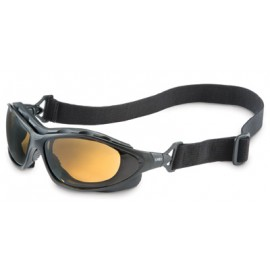 Uvex Seismic Safety Goggle with Espresso Anti-Fog Lens